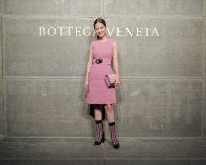 Joanne Tseng, At the Bottega Veneta Fall Winter 2018 show at the American Stock Exchange in New York City