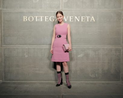 Joanne Tseng, At the Bottega Veneta Fall Winter 2018 show at the American Stock Exchange in New York City