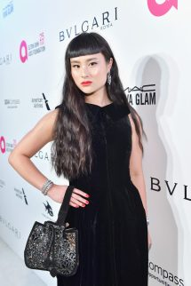 WEST HOLLYWOOD, CA - MARCH 04: Asia Chow attends the 26th annual Elton John AIDS Foundation Academy Awards Viewing Party sponsored by Bulgari, celebrating EJAF and the 90th Academy Awards at The City of West Hollywood Park on March 4, 2018 in West Hollywood, California. (Photo by Stefanie Keenan/Getty Images for Bulgari)