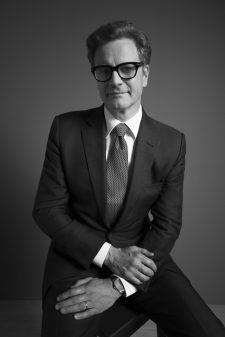 Colin Firth with the L.U.C XPS Fairmined