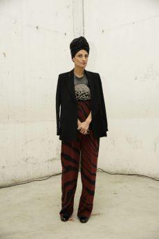 Helen Nonini in Roberto Cavalli @ Roberto Cavalli Fashion Show FW1819 - 23-02-18