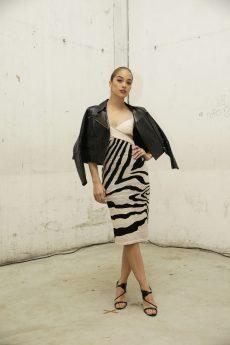 Jasmine Sanders in Roberto Cavalli @ Roberto Cavalli Fashion Show FW1819 - 23-02-18