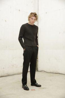 Jordan Barrett in Roberto Cavalli @ Roberto Cavalli Fashion Show FW1819 - 23-02-18