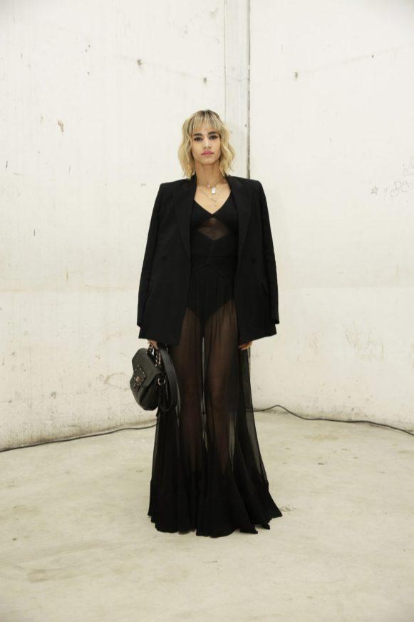Sofia Boutella in Roberto Cavalli @ Roberto Cavalli Fashion Show FW1819 - 23-02-18