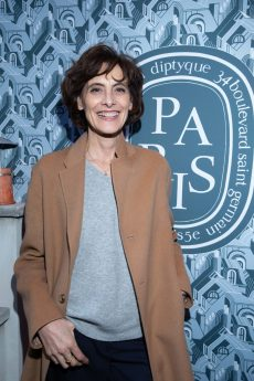 Ines de la FRESSANGE.. Flagship Dyptique St Honore. . Paris. 04/2018 © david atlan
