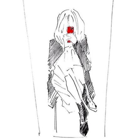 Fonelle, dessinée par @fraandcleo