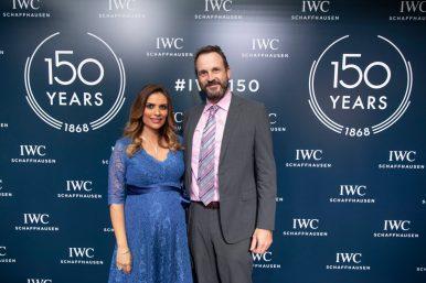 IWC 150 Years_Ranya Younes and Mirco