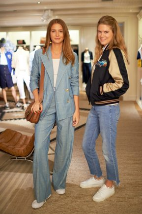 Hattie West and Millie Mackintosh