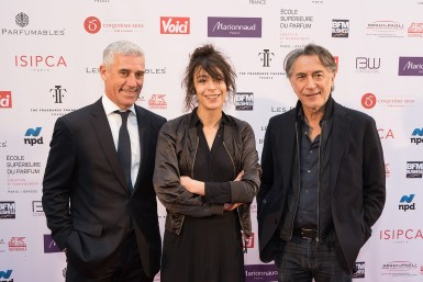 Philippe UGHETTO ( Président de la Fragrance Foundation France ) - Adrienne PAULY - Richard BERRY