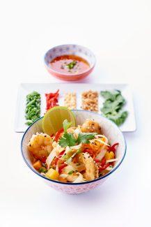 Salade papaye et mangue verte, concombre - © B. Winkelmann (3)