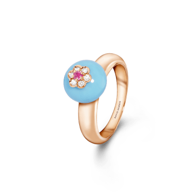 11-09-1172 Turquoise Ring
