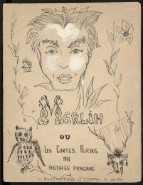 4 - Livre d'enfance, Merlin ou Les Contes Perdus, d'après le roman éponyme d'Andrée Pragane, 1952 © Fondation Pierre Bergé - Yves Saint Laurent _ Tous droits réservés