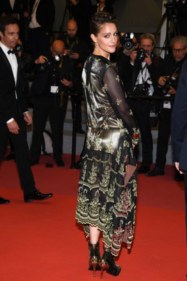 """CANNES, FRANCE - MAY 15: Ariane Labed attends the screening of """"Under The Silver Lake"""" during the 71st annual Cannes Film Festival at Palais des Festivals on May 15, 2018 in Cannes, France. (Photo by Pascal Le Segretain/Getty Images)"""