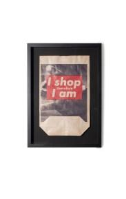 Barbara KRUGER, I shop therefore I am, 1990, Photolithographie en couleurs ©Artcurial