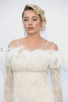 CAP D'ANTIBES, FRANCE - MAY 17: Caroline Vreeland arrives at the amfAR Gala Cannes 2018 at Hotel du Cap-Eden-Roc on May 17, 2018 in Cap d'Antibes, France. (Photo by Dominique Charriau/WireImage)