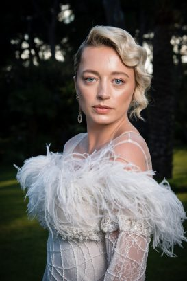 CAP D'ANTIBES, FRANCE - MAY 17: Caroline Vreeland poses for portraits at the amfAR Gala Cannes 2018 cocktail at Hotel du Cap-Eden-Roc on May 17, 2018 in Cap d'Antibes, France. (Photo by Pascal Le Segretain/amfAR/WireImage for amfAR)