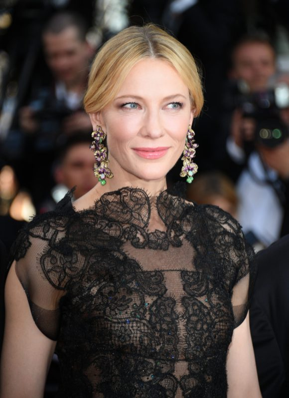 "CANNES, FRANCE - MAY 08: Jury president Cate Blanchett attends the screening of ""Everybody Knows (Todos Lo Saben)"" and the opening gala during the 71st annual Cannes Film Festival at Palais des Festivals on May 8, 2018 in Cannes, France. (Photo by Venturelli/WireImage)"