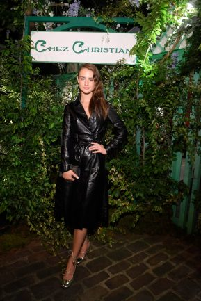 Grace Van Patten attends the Welcome Dinner of the Christian Dior Couture S/S 2019 Cruise Collection on May 24, 2018 in Paris, France.