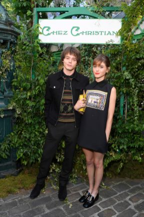 PARIS, FRANCE - MAY 24: Charlie Heaton and Natalia Dyer attend the Welcome Dinner of the Christian Dior Couture S/S 2019 Cruise Collection on May 24, 2018 in Paris, France. (Photo by Victor Boyko/Getty Images For Christian Dior)