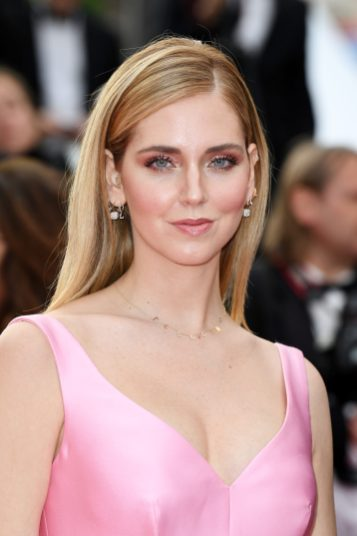 "CANNES, FRANCE - MAY 13: Chiara Ferragni attends the screening of ""Sink Or Swim (Le Grand Bain)"" during the 71st annual Cannes Film Festival at Palais des Festivals on May 13, 2018 in Cannes, France. (Photo by Pascal Le Segretain/Getty Images)"