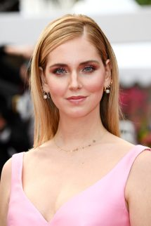 """CANNES, FRANCE - MAY 13: Chiara Ferragni attends the screening of """"Sink Or Swim (Le Grand Bain)"""" during the 71st annual Cannes Film Festival at Palais des Festivals on May 13, 2018 in Cannes, France. (Photo by Dominique Charriau/WireImage)"""