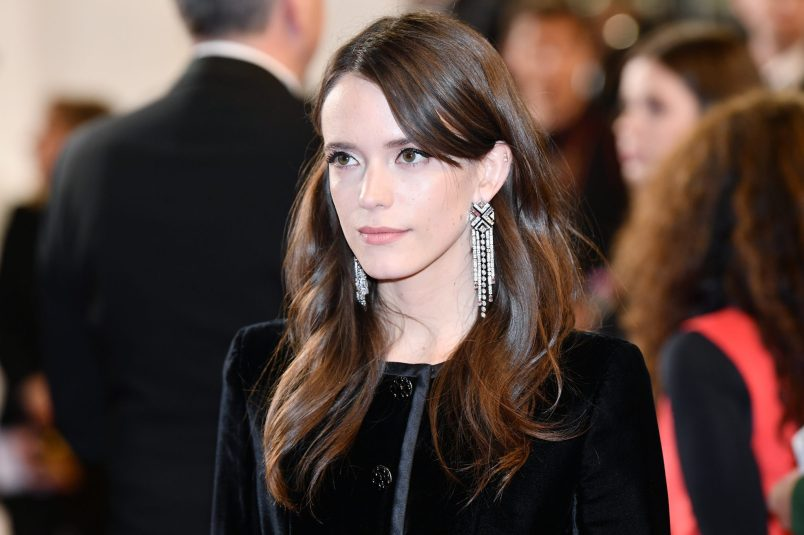 """CANNES, FRANCE - MAY 14: Stacy Martin attends the screening of """"The House That Jack Built"""" during the 71st annual Cannes Film Festival at Palais des Festivals on May 14, 2018 in Cannes, France. (Photo by Emma McIntyre/Getty Images)"""