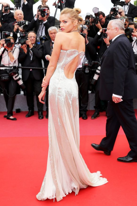 "CANNES, FRANCE - MAY 10: Stella Maxwell attends the screening of ""Sorry Angel (Plaire, Aimer Et Courir Vite)"" during the 71st annual Cannes Film Festival at Palais des Festivals on May 10, 2018 in Cannes, France. (Photo by Vittorio Zunino Celotto/Getty Images for Kering)"