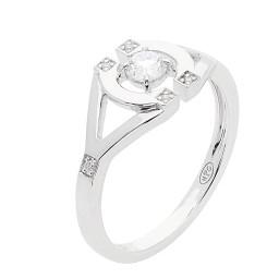 Gringoire Joaillier - Les Romantiques - ponctuée diamants -BB1732BTS-1