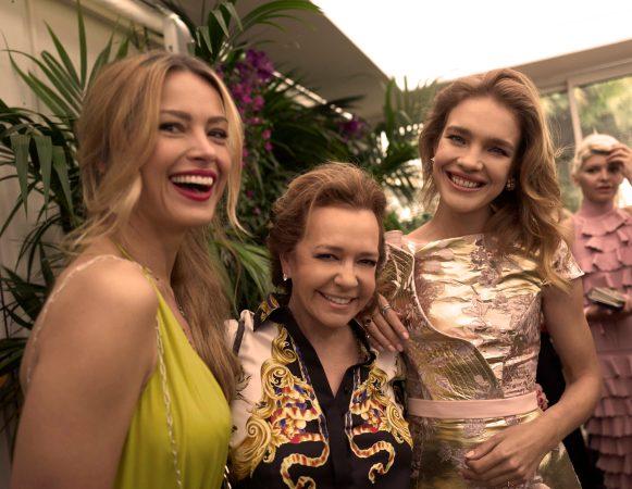 Petra Nemcova, Caroline Scheufele and Natalia Vodianova (by Greg Williams) (1)