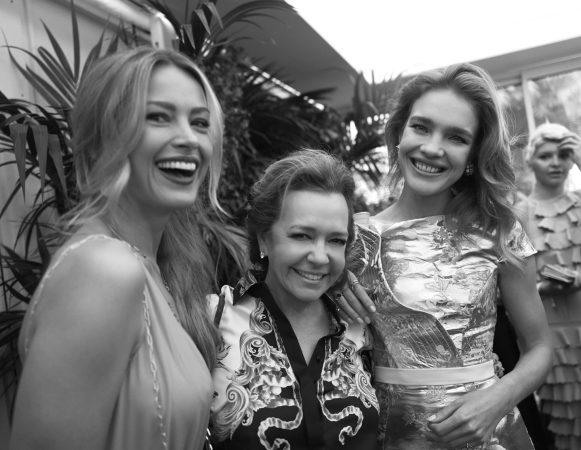 Petra Nemcova, Caroline Scheufele and Natalia Vodianova (by Greg Williams) (2)
