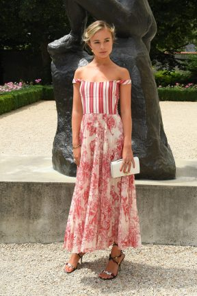 PARIS, FRANCE - JULY 02: PARIS, FRANCE - JULY Amelia Windsor attends the Christian Dior Haute Couture Fall Winter 2018/2019 show as part of Paris Fashion Week on July 2, 2018 in Paris, France. (Photo by Pascal Le Segretain/Getty Images for Christian Dior Couture) *** Local Caption *** Amelia Windsor