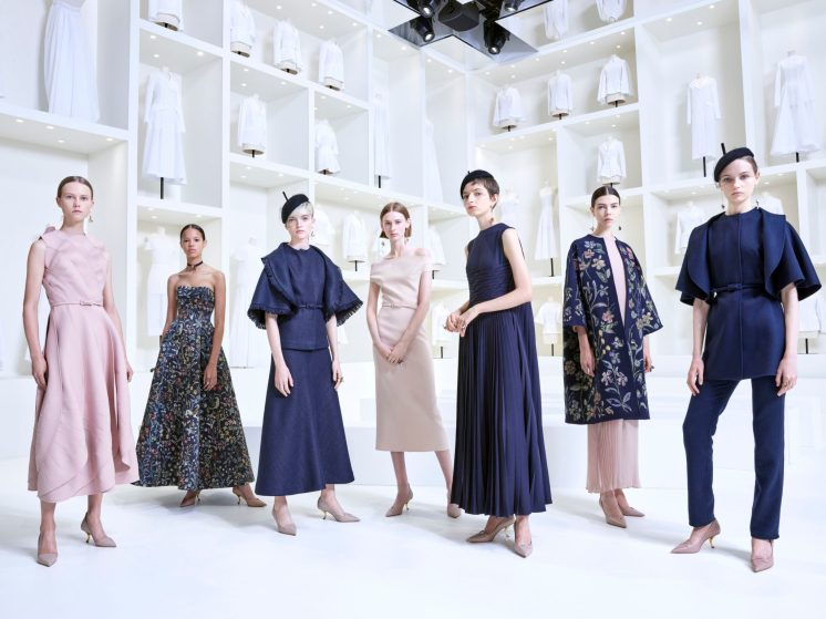 DIOR_HAUTE COUTURE_AUTUMN-WINTER 2018-19_GROUPSHOT_ © EMMA SUMMERTON FOR DIOR