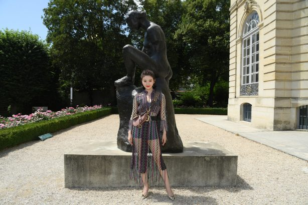 PARIS, FRANCE - JULY 02: Tian Jing attends the Christian Dior Haute Couture Fall Winter 2018/2019 show as part of Paris Fashion Week on July 2, 2018 in Paris, France. (Photo by Pascal Le Segretain/Getty Images for Christian Dior Couture) *** Local Caption *** Tian Jing
