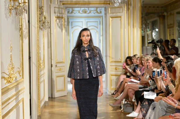 MARIA ARISTIDOU photos defile : fashion show Serendipity couture collection automne hiver : fall winter 2018 2019 PFW - © Imaxtree 17