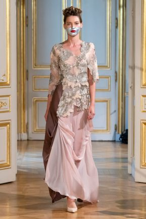 Photos défilé : fashion show Patuna Couture Carré d'As Collection automne hiver : fall winter 2018 2019 PFW - © Imaxtree 7