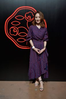 TOKYO, JAPAN - AUGUST 01: Reina Hoshi attends the Shiseido Makeup Tokyo Launch Event on August 1, 2018 in Tokyo, Japan. (Photo by Keith Tsuji/Getty Images for SHISEIDO) *** Local Caption *** Reina Hoshi
