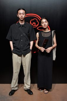 TOKYO, JAPAN - AUGUST 01: Shohei Yamashita and Saya Nimura attend the Shiseido Makeup Tokyo Launch Event on August 1, 2018 in Tokyo, Japan. (Photo by Keith Tsuji/Getty Images for SHISEIDO) *** Local Caption *** Shohei Yamashita; Saya Nimura