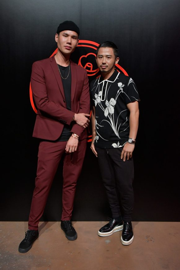 TOKYO, JAPAN - AUGUST 01: Patrick Ta and Hiro Odagiri attend the Shiseido Makeup Tokyo Launch Event on August 1, 2018 in Tokyo, Japan. (Photo by Keith Tsuji/Getty Images for SHISEIDO) *** Local Caption *** Patrick Ta; Hiro Odagiri