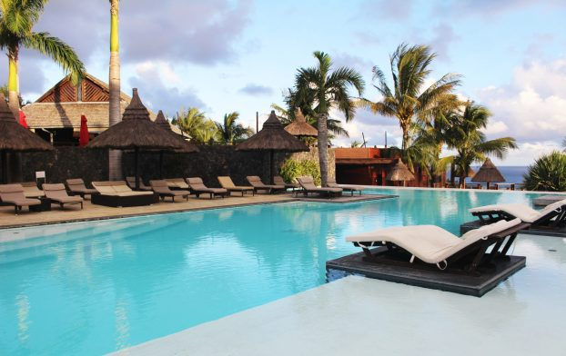 Piscine du Palm Hotel & Spa