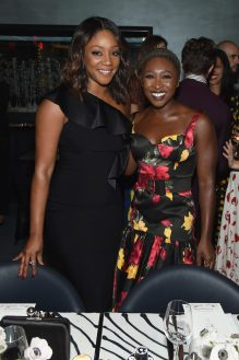 NEW YORK, NY - SEPTEMBER 12: Tiffany Haddish and Cynthia Erivo attend the Michael Kors x 10 Corso Como Dinner at 10 Corso Como on September 12, 2018 in New York City. (Photo by Larry Busacca/Getty Images for Michael Kors)