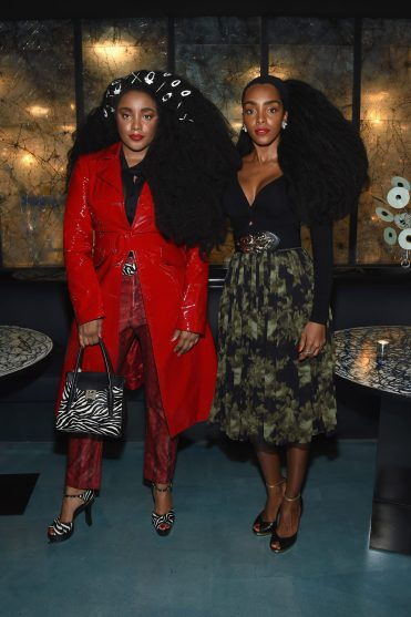 NEW YORK, NY - SEPTEMBER 12: TK Wonder and Ciproama Quann attend the Michael Kors x 10 Corso Como Dinner at 10 Corso Como on September 12, 2018 in New York City. (Photo by Larry Busacca/Getty Images for Michael Kors)