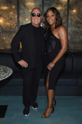 NEW YORK, NY - SEPTEMBER 12: Michael Kors and Tiffany Haddish attend the Michael Kors x 10 Corso Como Dinner at 10 Corso Como on September 12, 2018 in New York City. (Photo by Larry Busacca/Getty Images for Michael Kors)