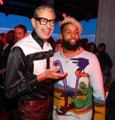 Jeff Goldblum, Odell Beckham Jr.