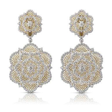 Camelia earrings B152VU