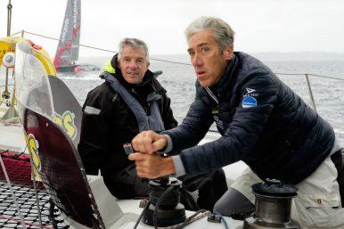 Grand Prix Valdys Multi50 - La French Tech - Gilles Lamiré avec Ronan Pensec
