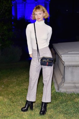 HOLLYWOOD, CA - NOVEMBER 02: Kacy Hill attends Gucci Guilty Launch Party at Hollywood Forever on November 2, 2018 in Hollywood, California. (Photo by Stefanie Keenan/Getty Images for GUCCI)