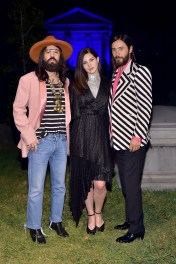 HOLLYWOOD, CA - NOVEMBER 02: (L-R) Gucci Creative Director Alessandro Michele, Lana Del Rey, and Jared Leto attend Gucci Guilty Launch Party at Hollywood Forever on November 2, 2018 in Hollywood, California. (Photo by Stefanie Keenan/Getty Images for GUCCI) *** Local Caption *** Jared Leto;Lana Del Rey;Alessandro Michele