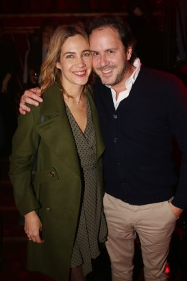 Constance de Gourcuff et Laurent de Gourcuff lors de la soiree d'inauguration du restaurant Roxie a Paris, France, le 27 Novembre 2018. Photo by Jerome Domine/ABACAPRESS.COM