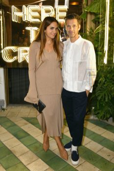MIAMI, FL - DECEMBER 06: Laure Heriard Dubreuil (L) and Aaron Young attend Adidas Originals, British Fashion Council and David Beckham host a dinner in celebration of their creative collaboration on December 6, 2018 in Miami, United States. (Photo by Getty Images/BFC/Getty Images for BFC) *** Local Caption *** Laure Heriard Dubreuil;Aaron Young
