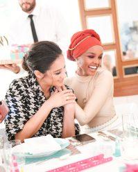 Shay Mitchell, Halima Aden